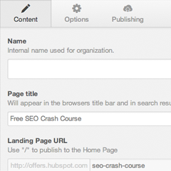 Learn more about landing pages