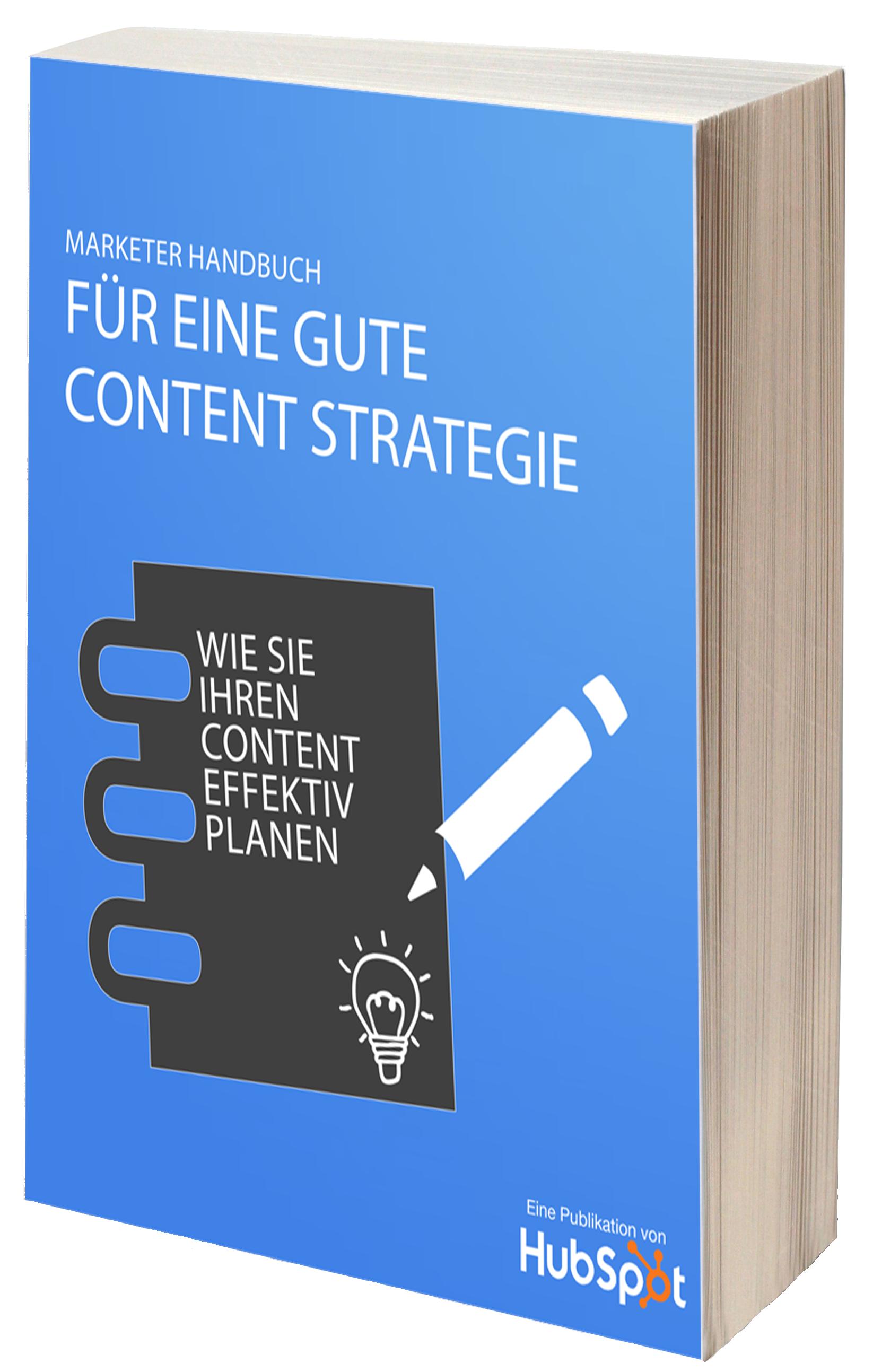 Marketer-Handbuch – Content-Strategie