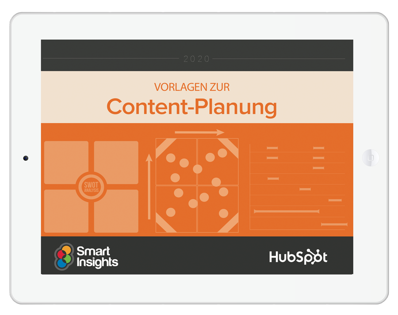 HubSpot - Vorlagen zur Content-Planung