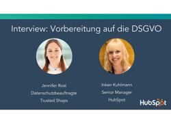 Interview zur DSGVO