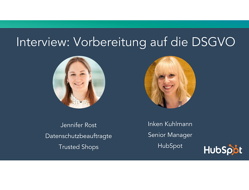 Interview zur DSGVO