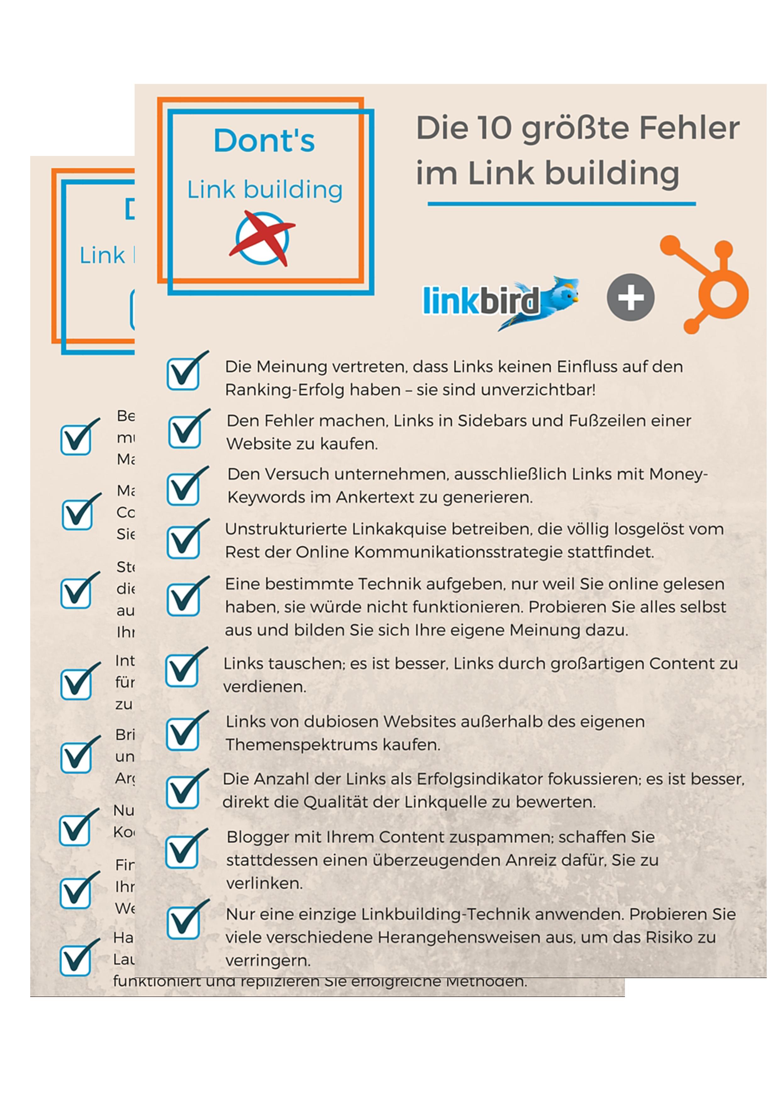 HubSpot_und_Linkbird_SEO_Checkliste