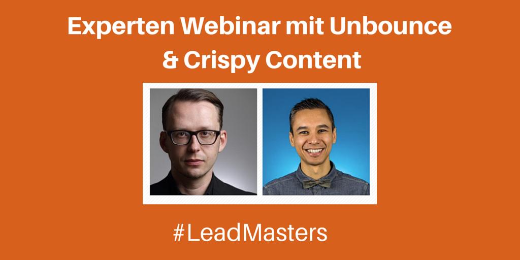 LeadMasters Webinar
