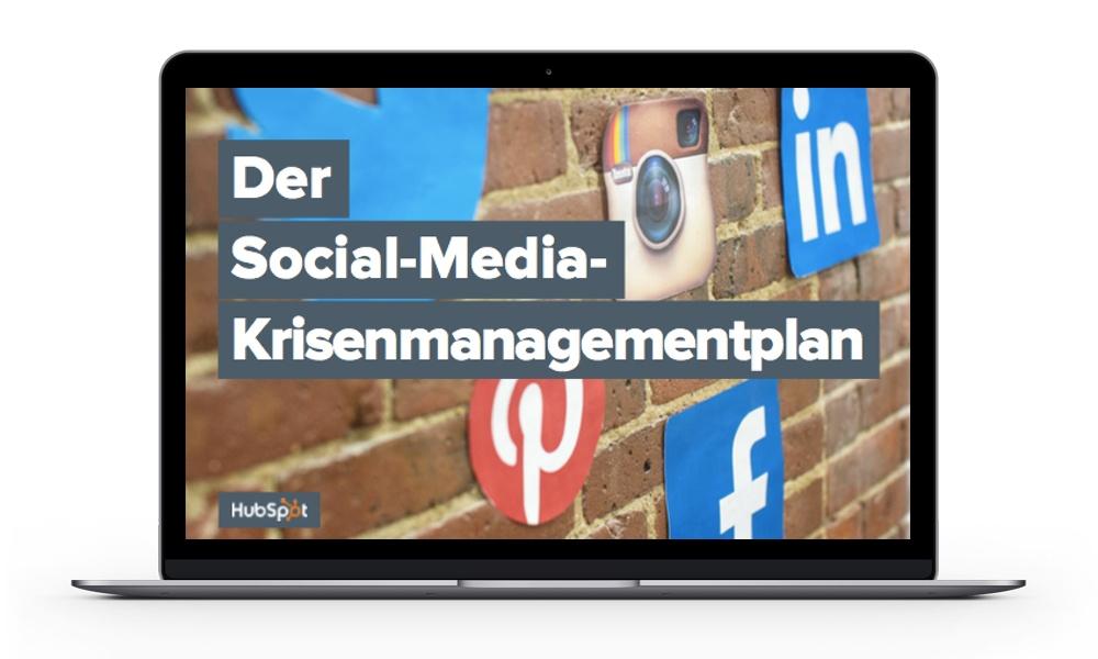 Social-Media-Krisenmanagement
