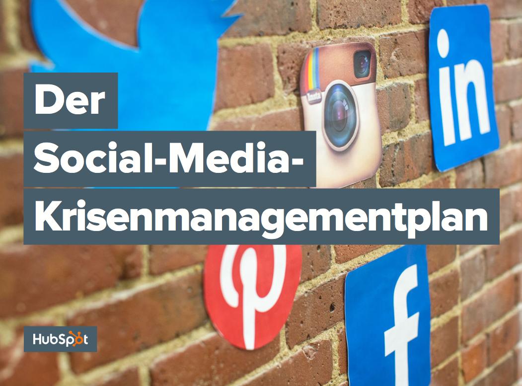 Social-Media-Krisenmanagement – Beispiel 01