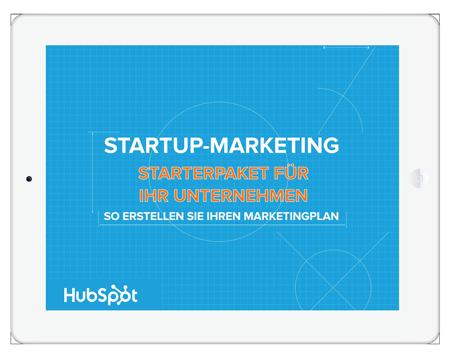 Marketing-Starterpaket für Startup-Unternehmen