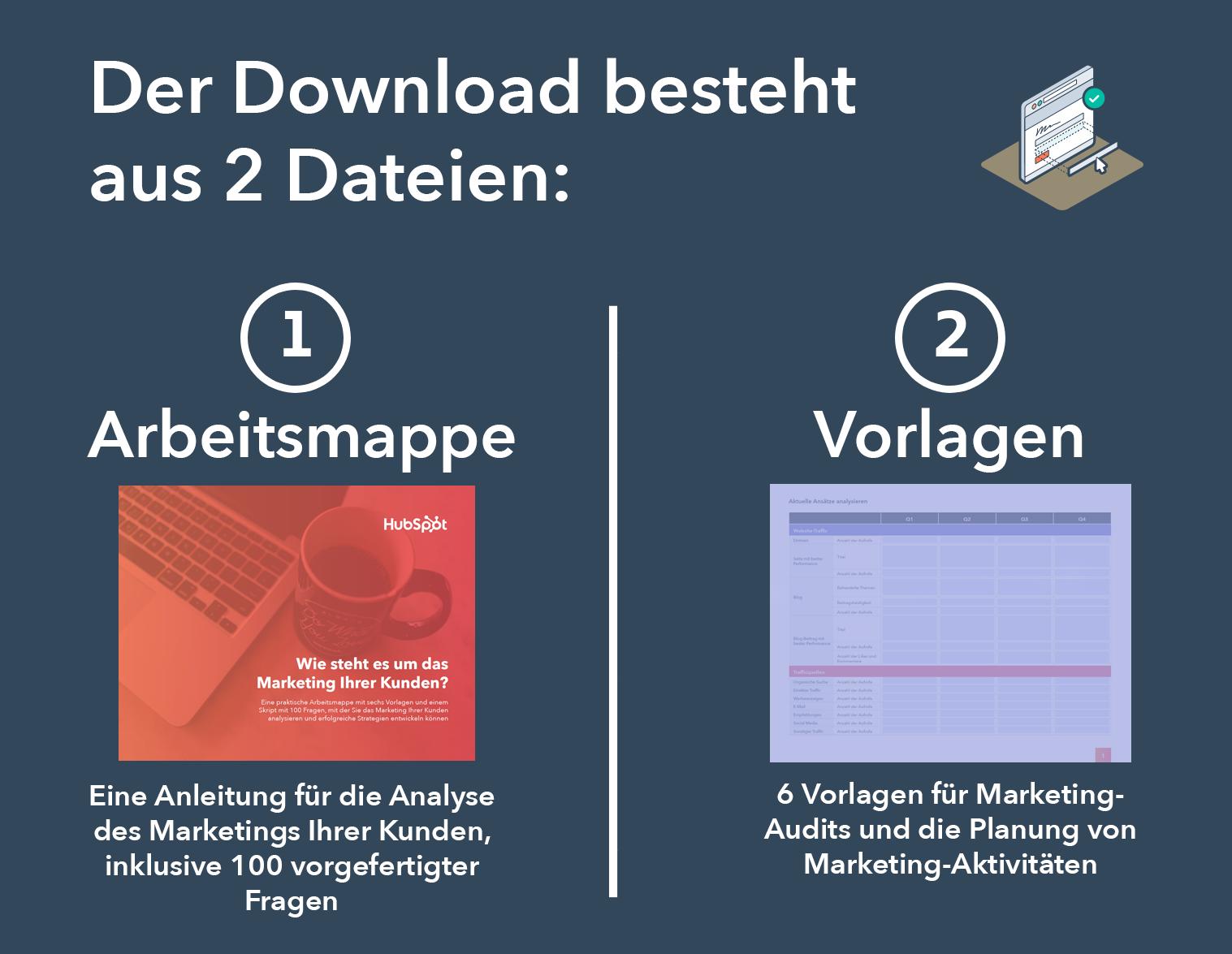 HubSpot - Arbeitsmappe für Marketing-Audits - Vorschau 1