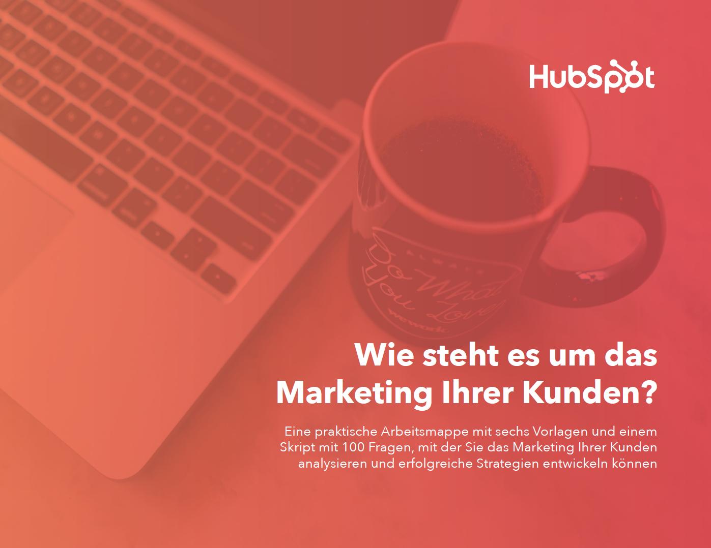 HubSpot - Arbeitsmappe für Marketing-Audits - Vorschau 2