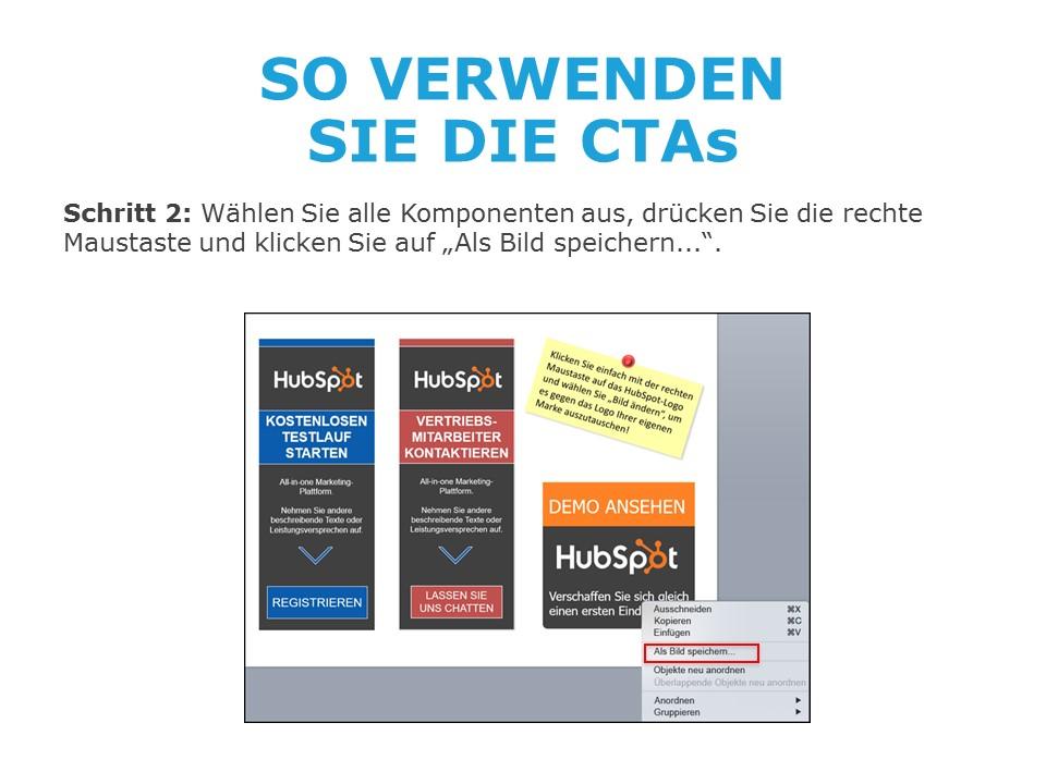 50 CTA-Vorlagen von HubSpot - Beispielbild 1