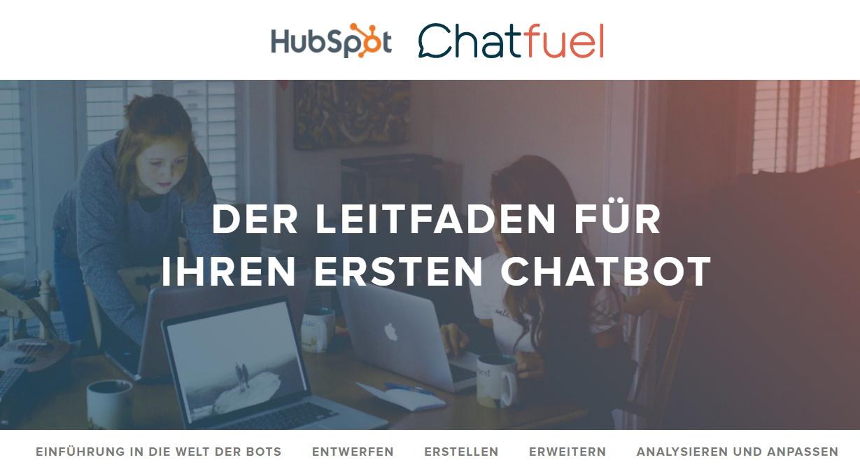 Ihr erster Chatbot: Ein Leitfaden für Anfänger – Beispielbild