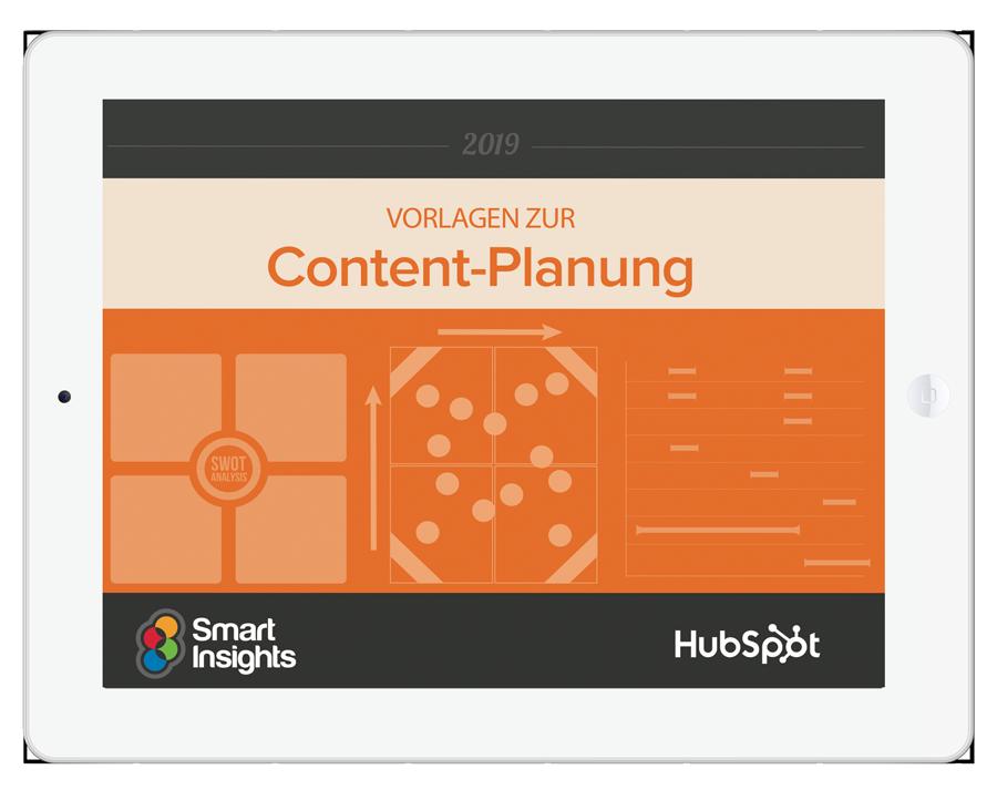 Vorlagen zur Planung Ihres Content-Marketing für 2018