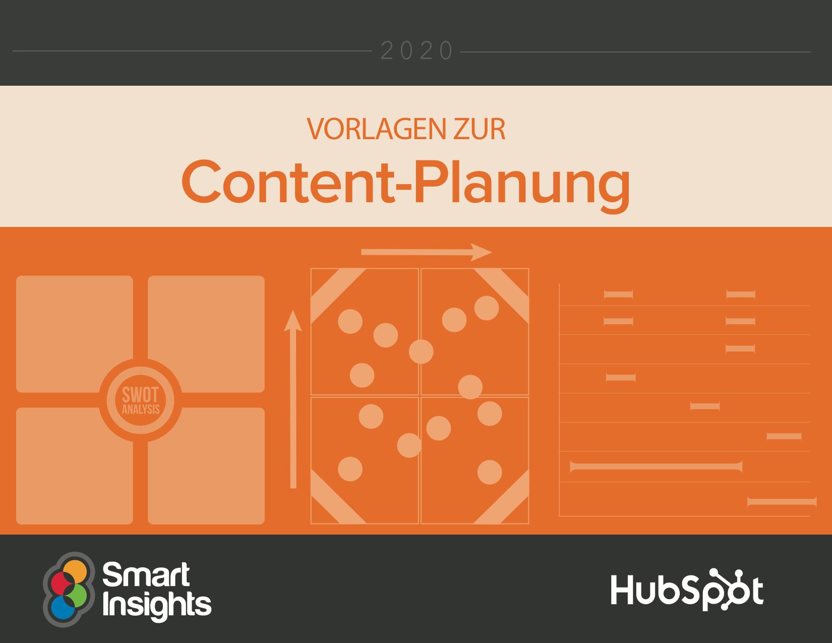 Vorlagen zur Content-Planung von HubSpot & Smart Insights – Vorschaubild 1