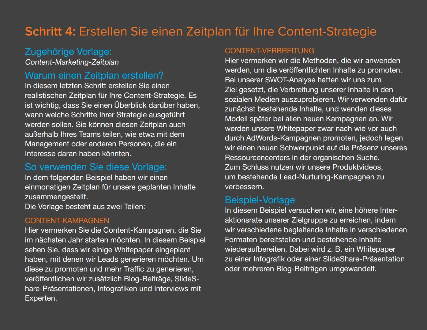 Vorlagen zur Content-Planung Vorschau 6