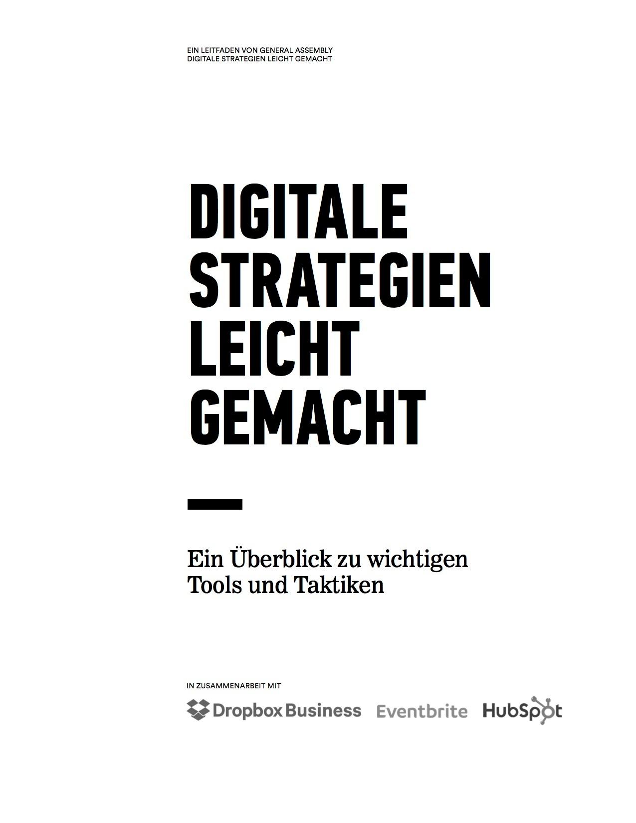 Digitale Strategien leicht gemacht – Vorschaubild 1
