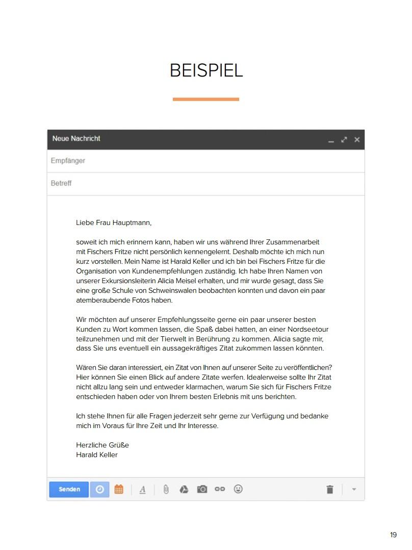 Kostenlose E Mail Vorlagen Für Marketing Vertrieb