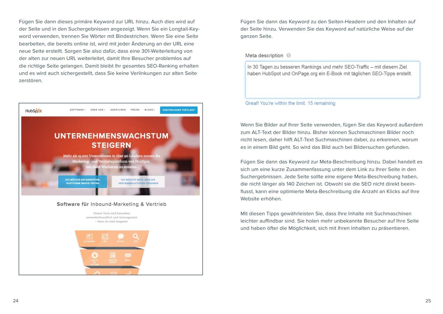HubSpot – Leads generieren mit der Inbound-Methodik – Beispielbild 3