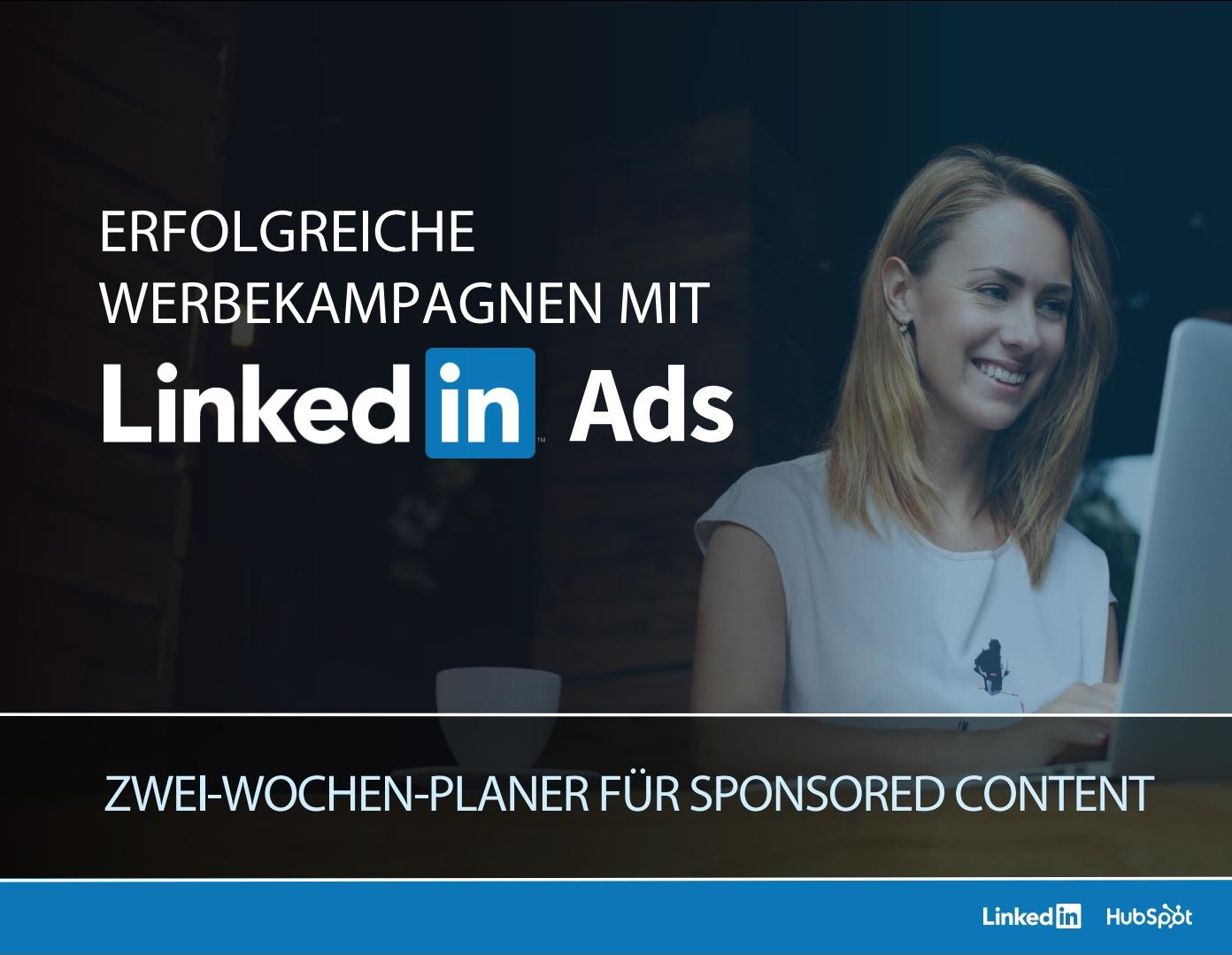 HubSpot – Werbekampagnen mit LinkedIn Ads – Beispiel 1