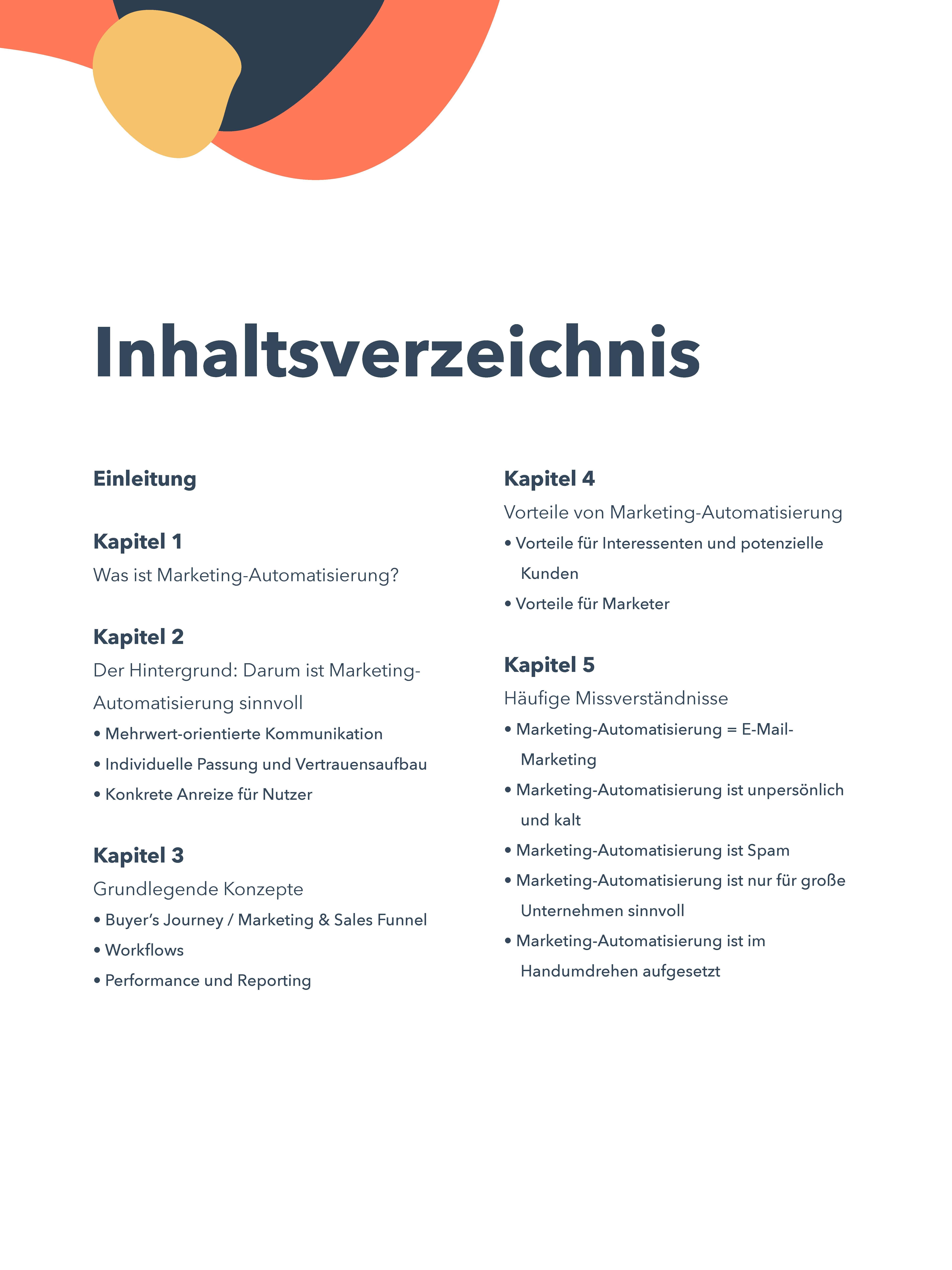 E-Book Inhaltsverzeichnis 1