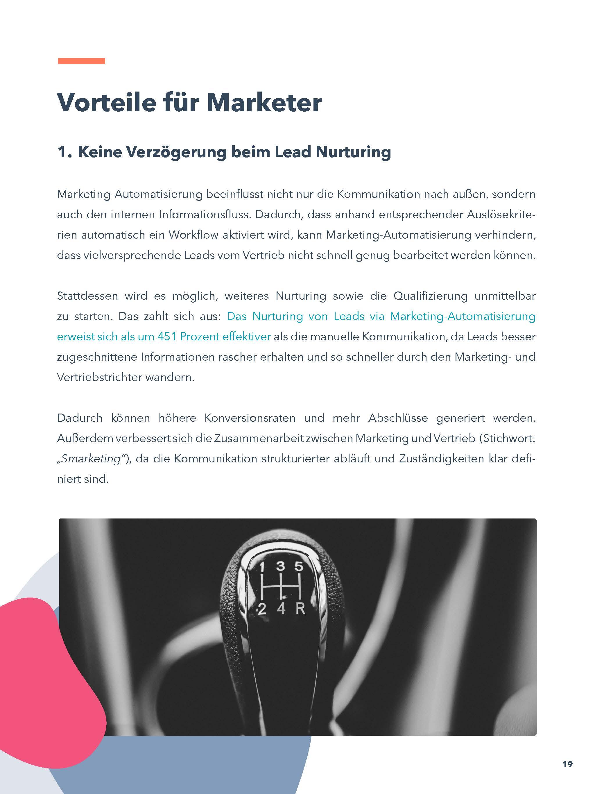 E-Book Vorteile für Marketer