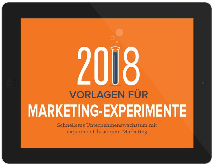 Laden Sie jetzt unsere Vorlagen für Marketingexperimente herunter!