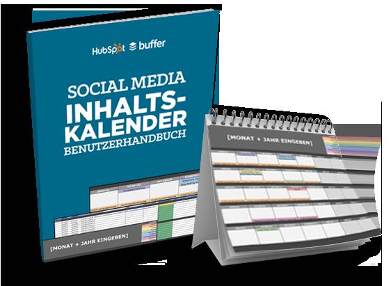 Vorlage für Ihren Social-Media-Kalender