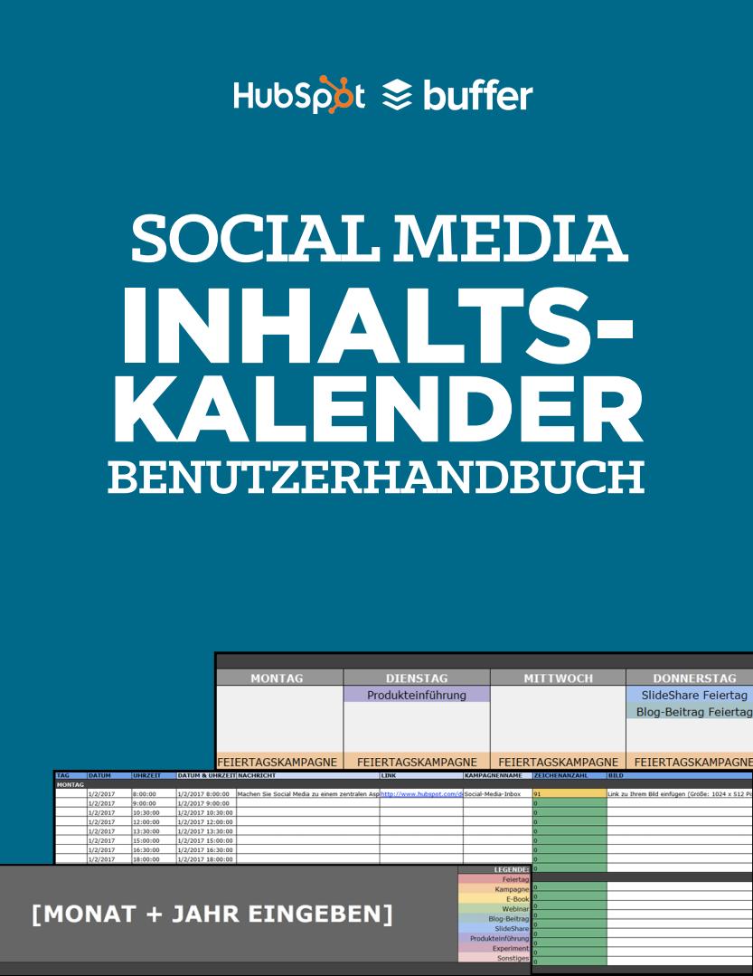 HubSpot - Social-Media-Content-Kalender - Vorschaubild 2