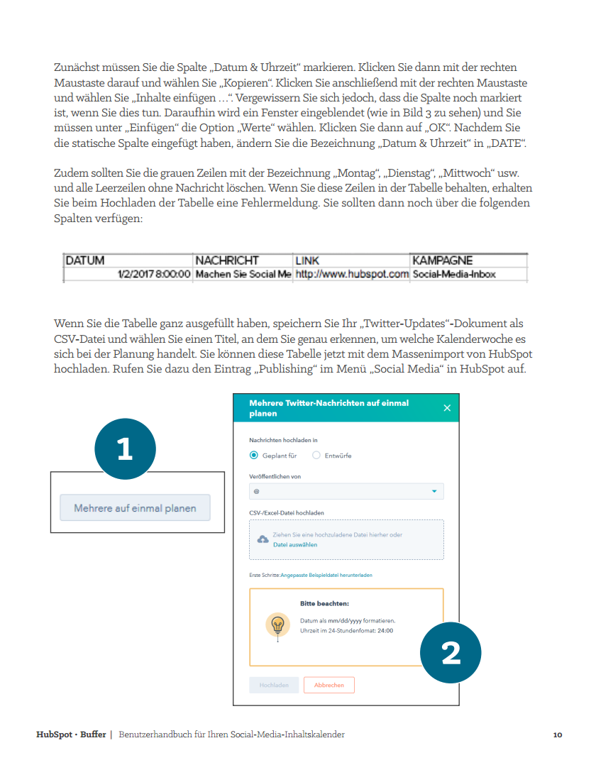 HubSpot - Social-Media-Content-Kalender - Vorschaubild 3