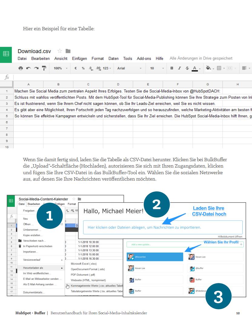 HubSpot - Social-Media-Content-Kalender - Vorschaubild 4