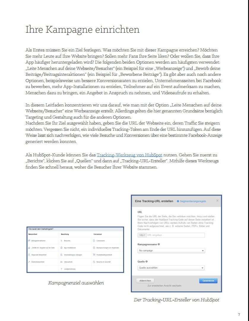 E-Book – Der ultimative Leitfaden für Social-Media-Werbung – Beispielseite 04