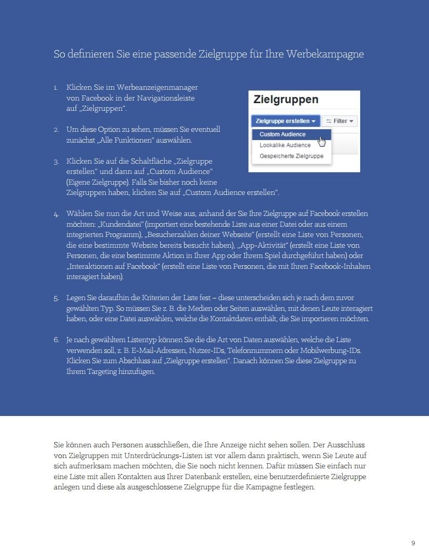E-Book – Der ultimative Leitfaden für Social-Media-Werbung – Beispielseite 06