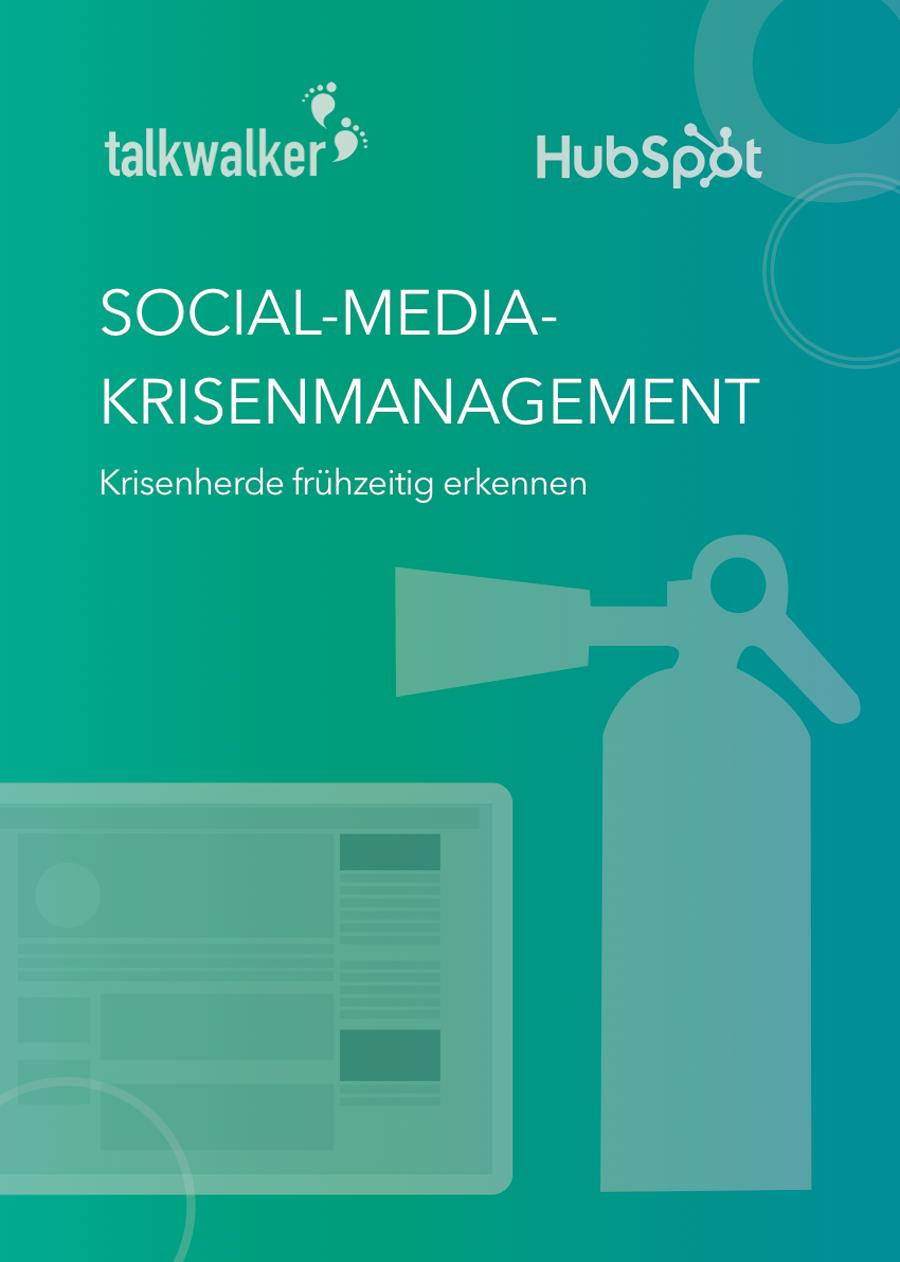 Social-Media-Krisenmanagement E-Book Preview 1