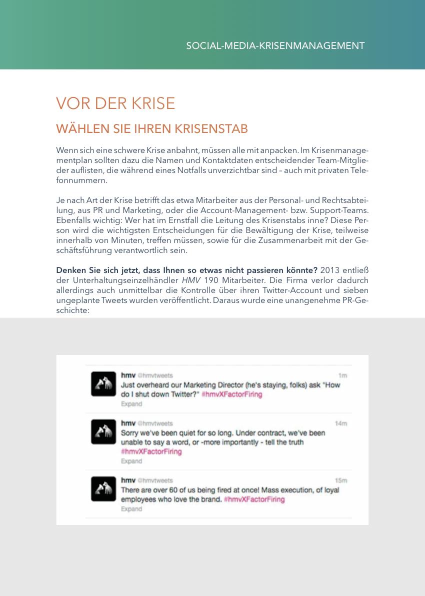 Social-Media-Krisenmanagement E-Book Preview 3