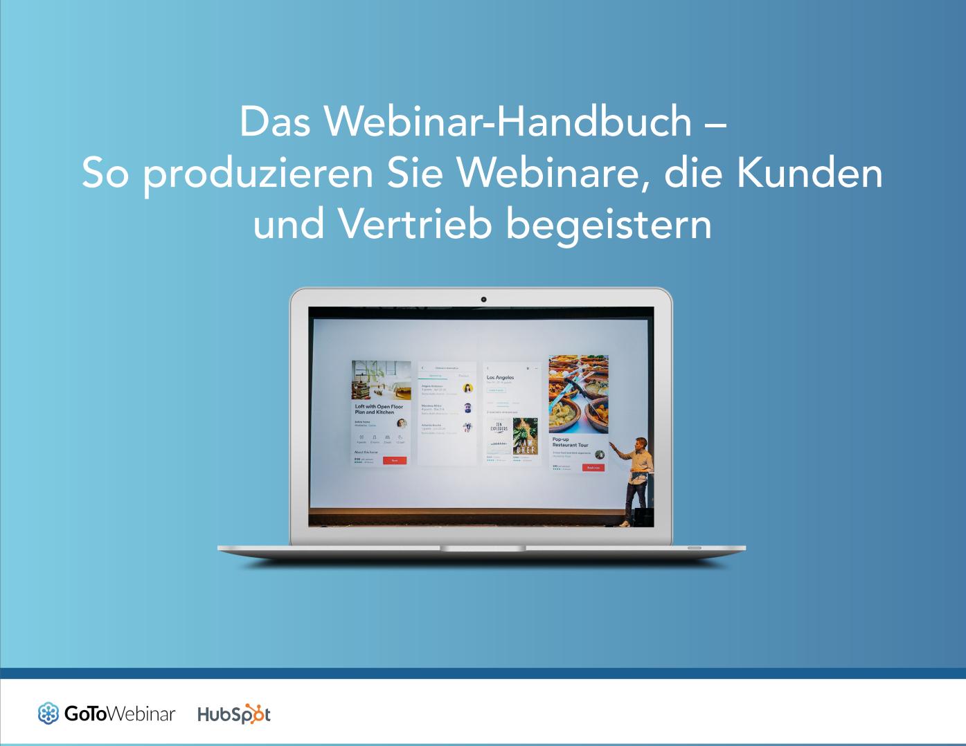 Das Webinar-Handbuch – GoToWebinar & HubSpot – Vorschaubild 1