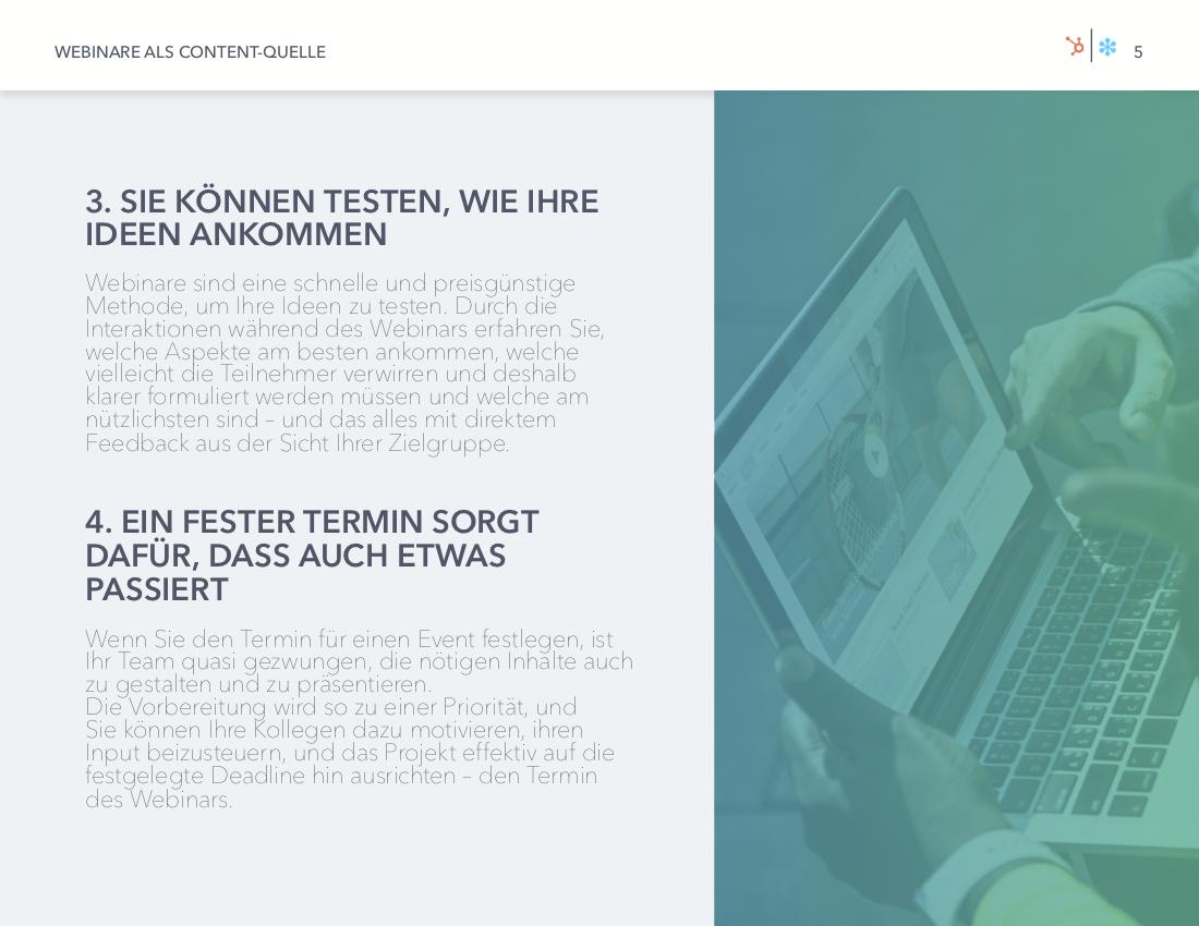 GoToWebinar & HubSpot | Webinare als Content-Quelle | Vorschaubild 3