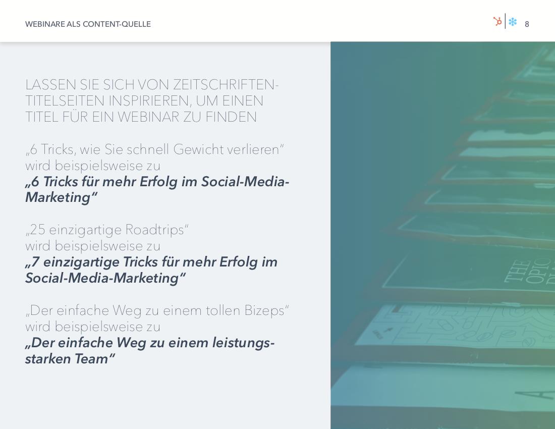 GoToWebinar & HubSpot | Webinare als Content-Quelle | Vorschaubild 4