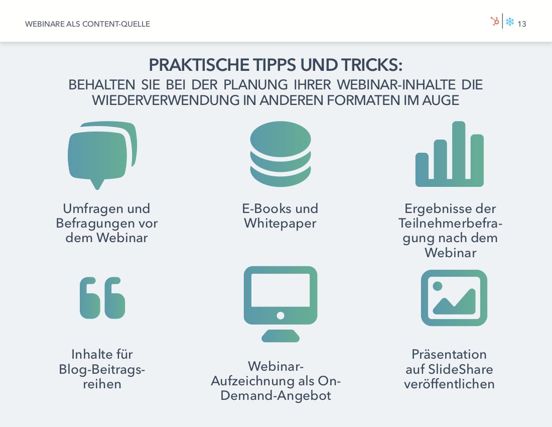 GoToWebinar & HubSpot | Webinare als Content-Quelle | Vorschaubild 5
