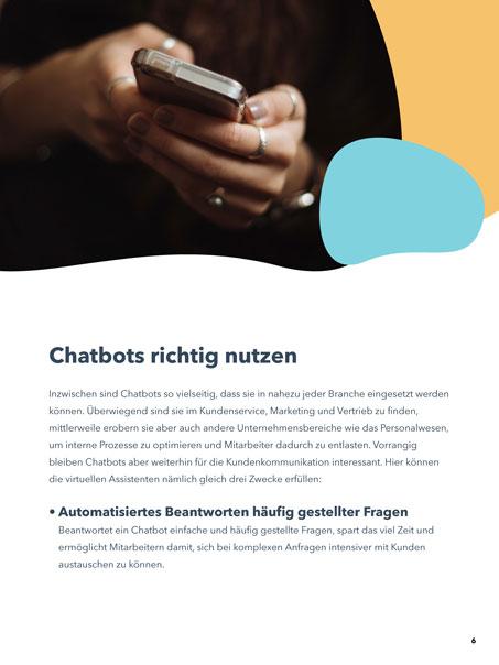 Chatbots richtig nutzen