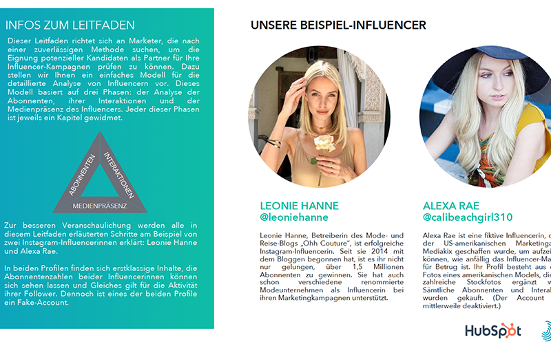 Influencer Marketing Ebook Vorschau 3