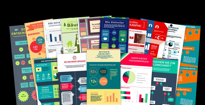 15 Kostenlose Infografik-Vorlagen