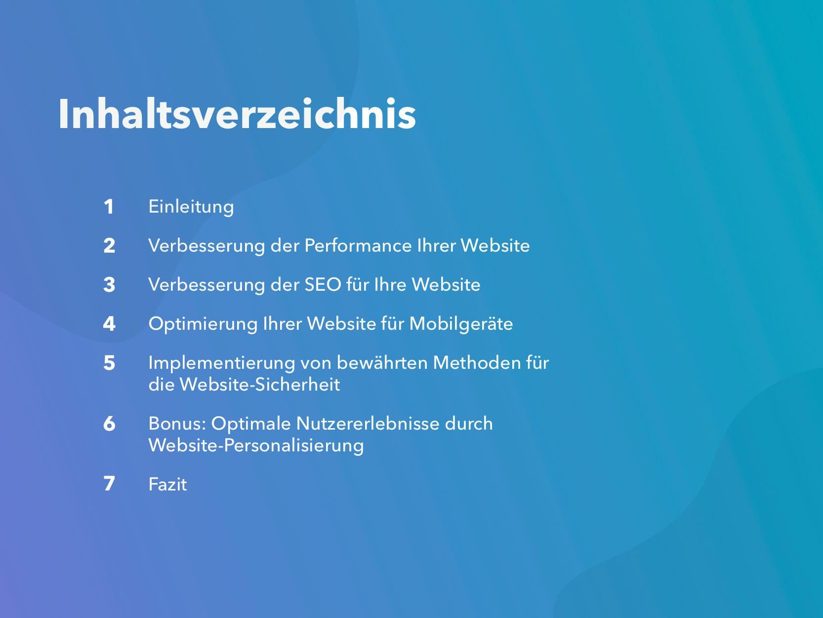 Mit einer optimierten Website zu mehr Traffic und Leads Intro
