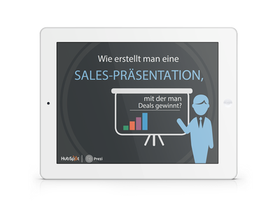 Wie erstellt man eine Sales Präsentation, mit der man Deals gewinnt?