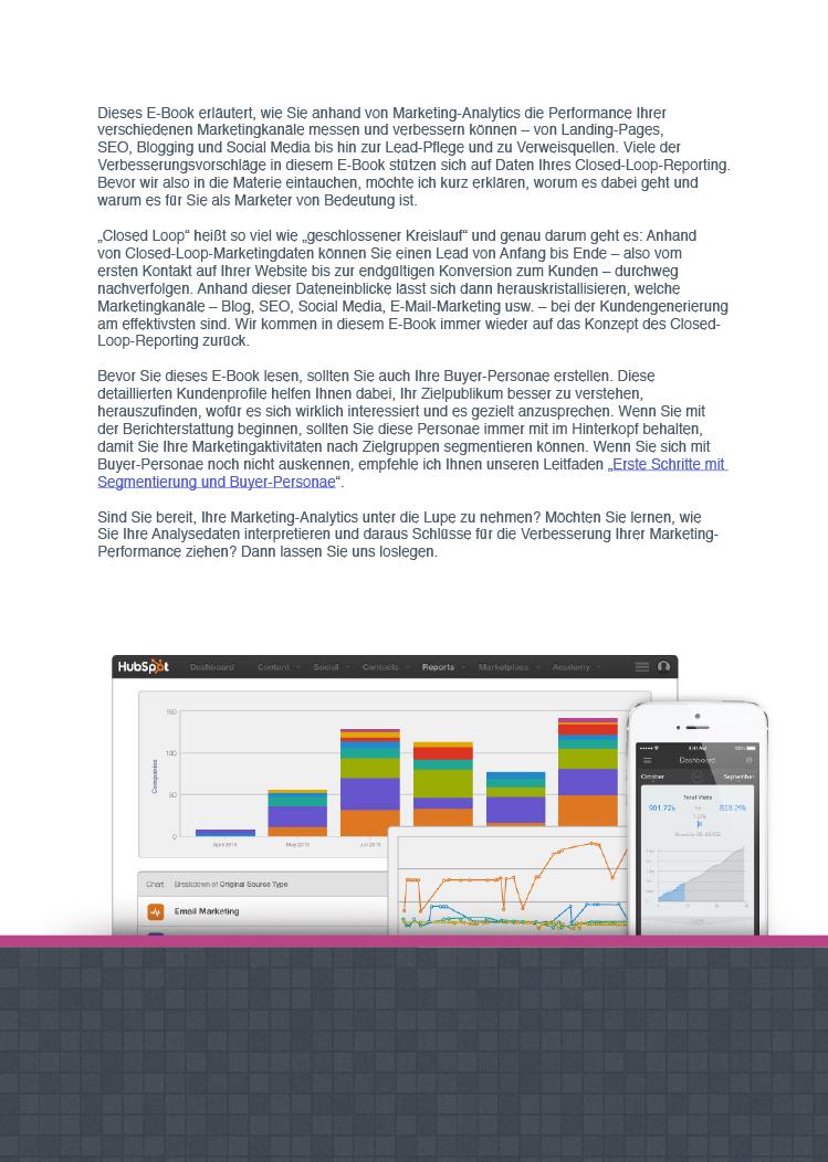 Exponentielles Wachstum durch Marketing Analytics